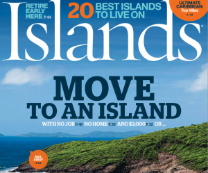 Islands Magazine Cover